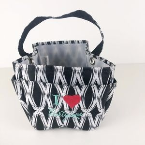 I ❤️ Thirty One Embroidered Utility Tote Organizer